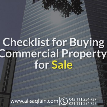 Checklist for Buying Commercial Property for Sale