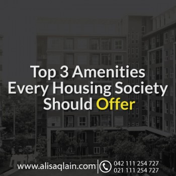 Top 3 Facilities Every Housing Society Should Offer