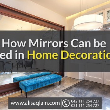How Mirrors Can be Used in Home Decoration