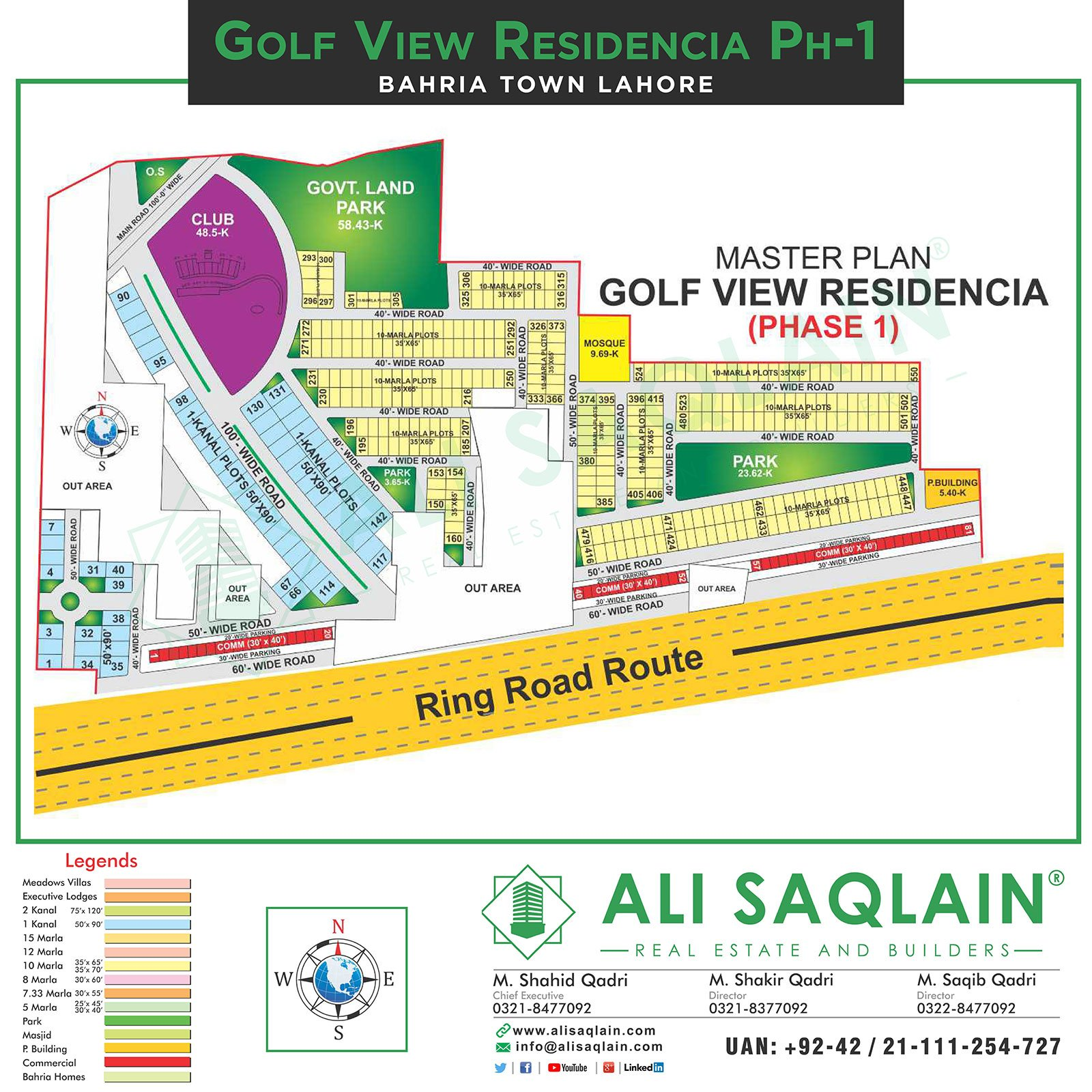 Bahria Town Golf View Phase - 1