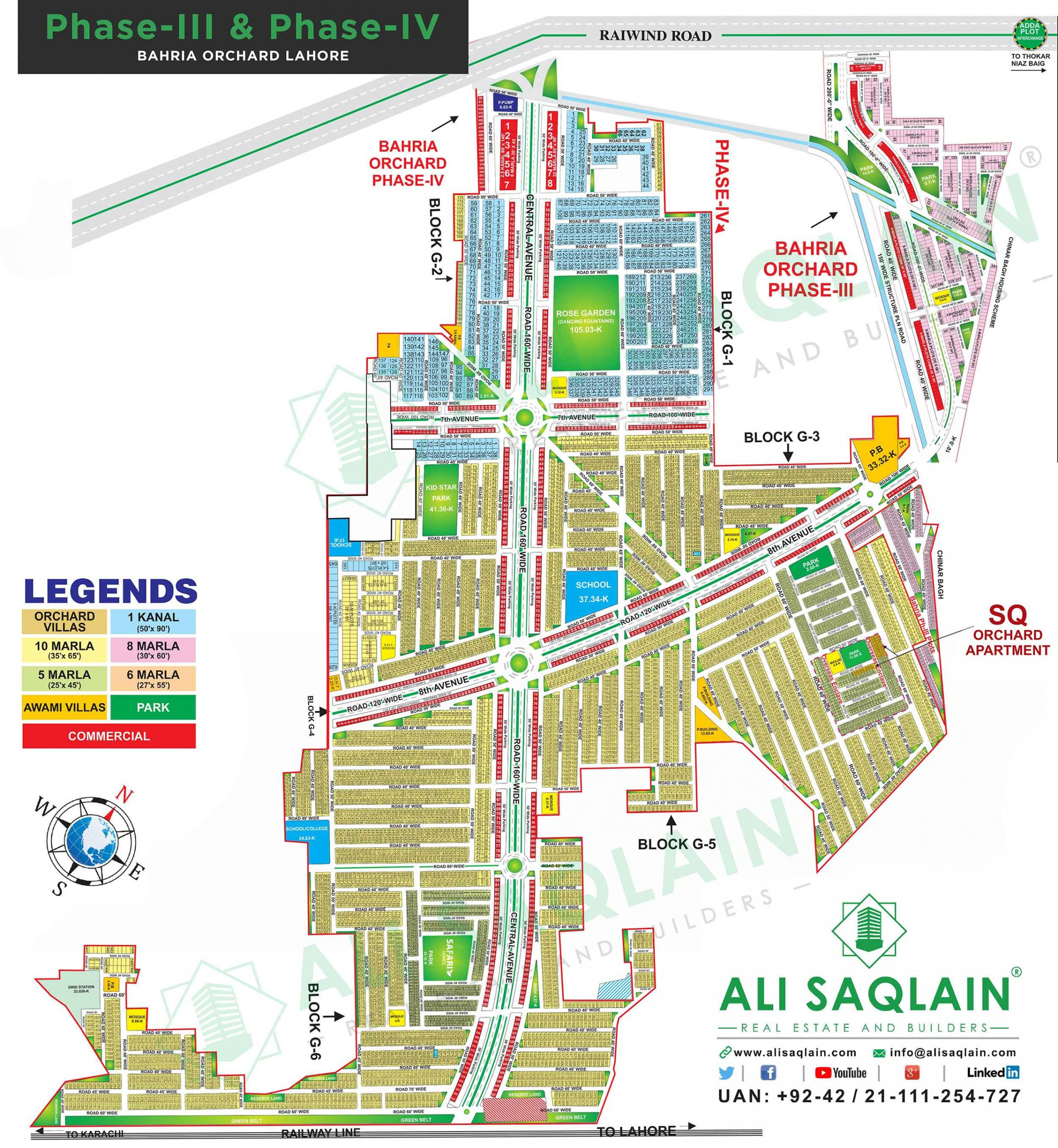 Bahria Town Orchard Phase 3 & 4