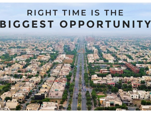 The Background of Bahria Town Lahore Prices
